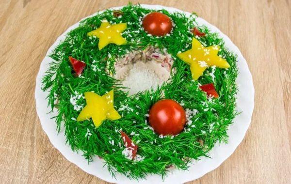 Лобио «Рождественский венок»